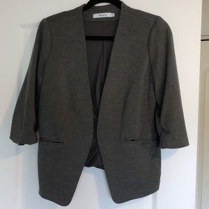Grey Ricki's Collar-less Blazer